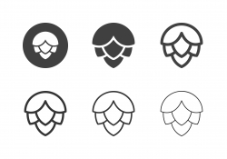 Hops Crop Icons - Multi Series