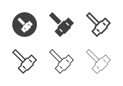 Pound Hammer Icons - Multi Series
