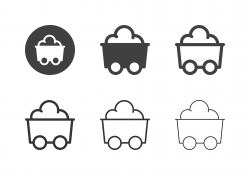 Mine Trolley Icons - Multi Series