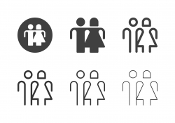 Gender Symbol Icons - Multi Series