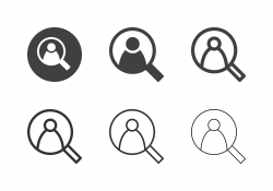 Find People Icons - Multi Series