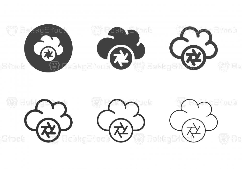Photo Storage Icons - Multi Series