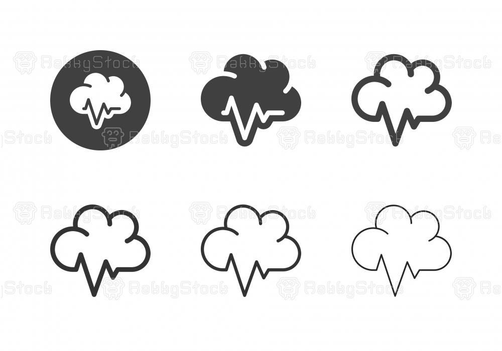 Cloud Healthcare Icons - Multi Series