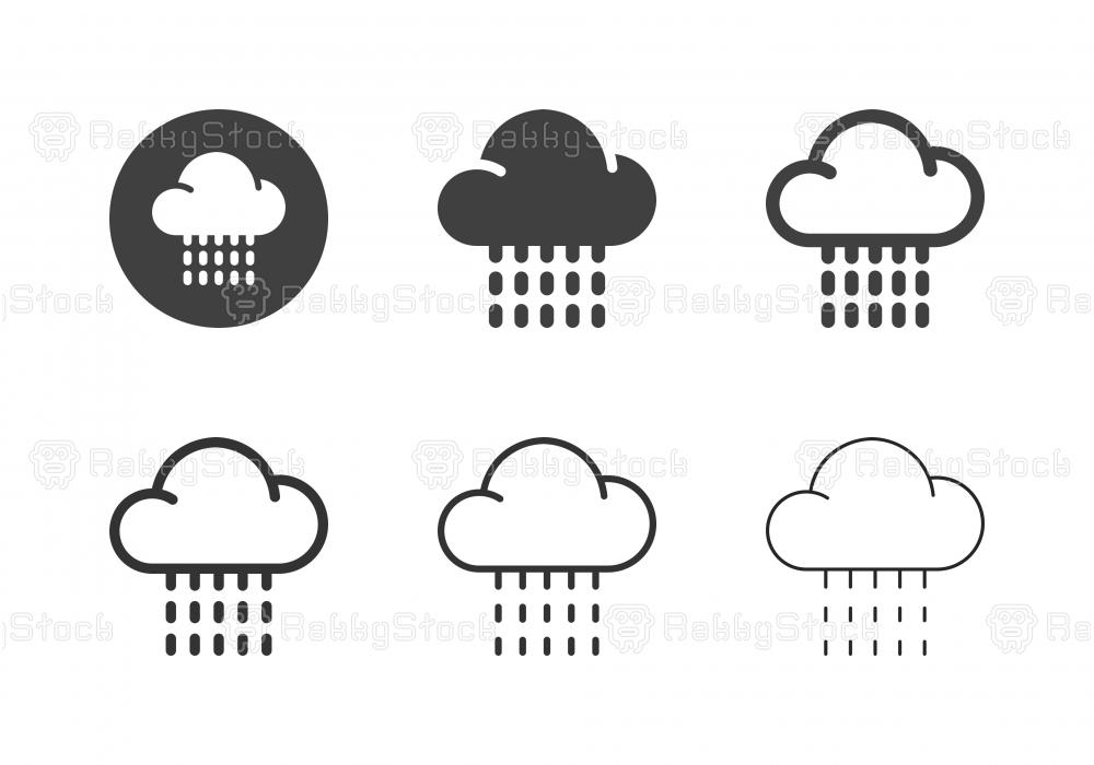 Raining Icons - Multi Series