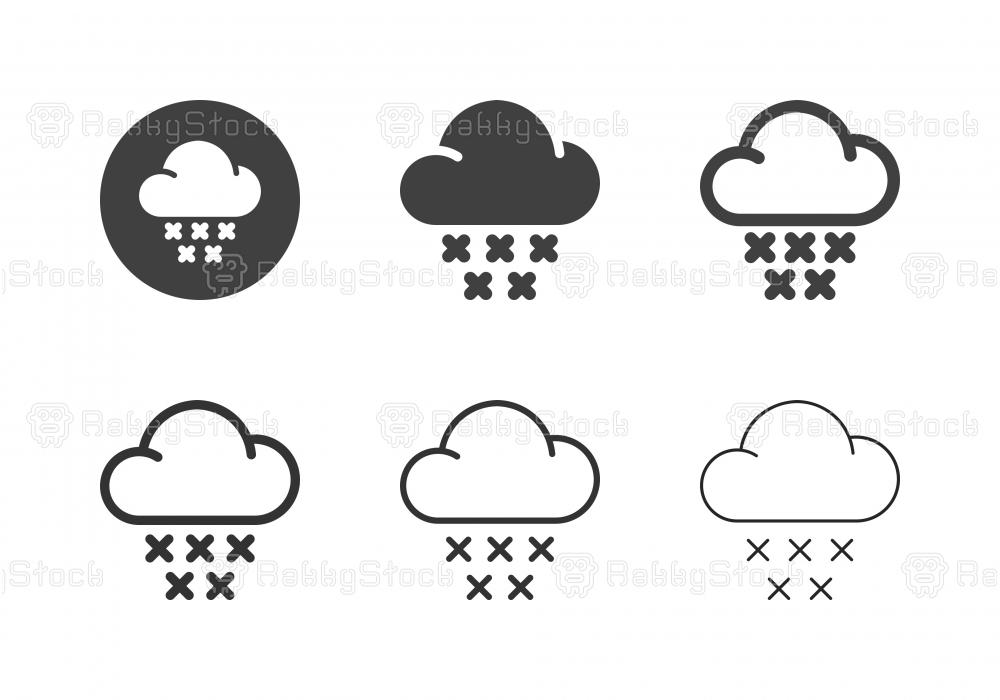 Snow Icons - Multi Series