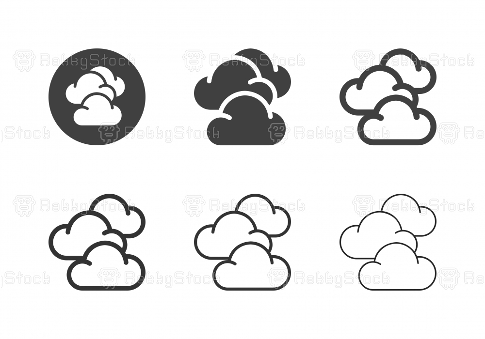Cloudscape Icons - Multi Series