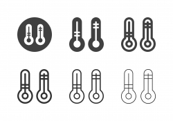Temperature Icons - Multi Series