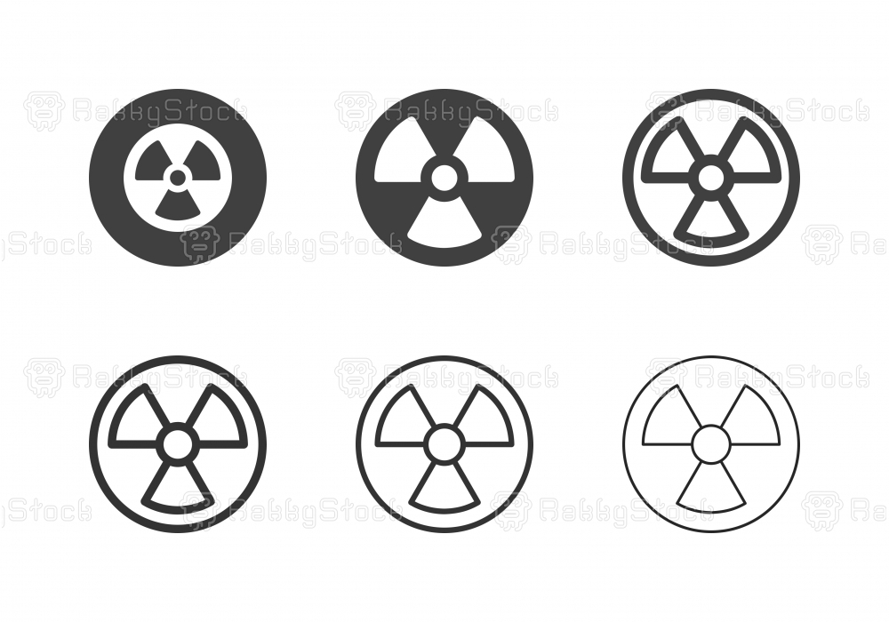 Radioactivity Icons - Multi Series