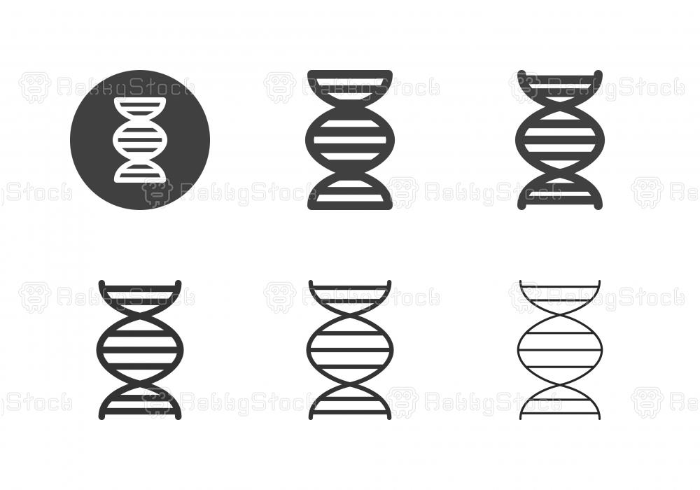 DNA Icons - Multi Series stock