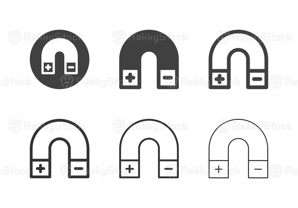 Magnet Icons - Multi Series