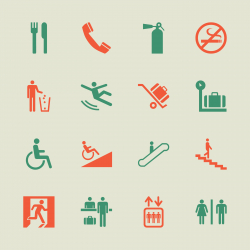 Information Sign Icons - Color Series | EPS10