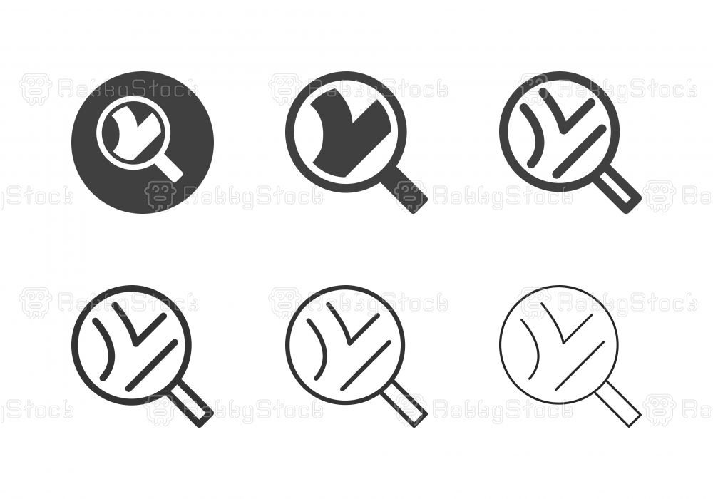 Direction Search Icons - Multi Series