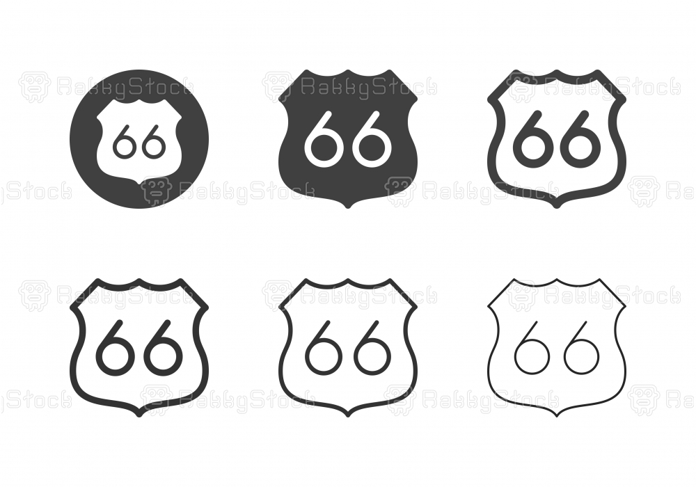 Route 66 Icons - Multi Series