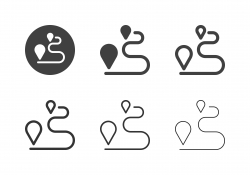 Route Direction Icons - Multi Series