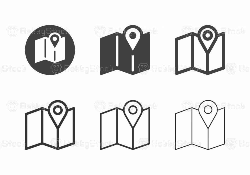 Map Icons - Multi Series