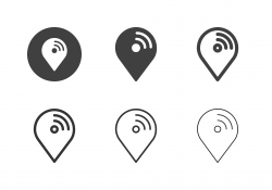 Wireless Position Icons - Multi Series