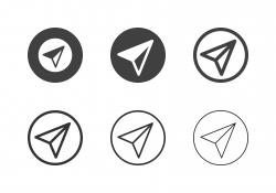 Navigator Pointer Icons - Multi Series
