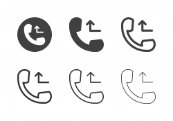 Busy Call Icons - Multi Series