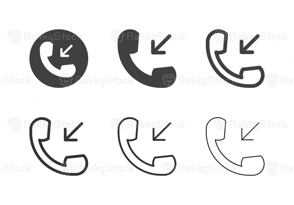 Incoming Call Icons - Multi Series