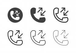 Call Log Icons - Multi Series