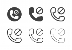 Call Block Icons - Multi Series