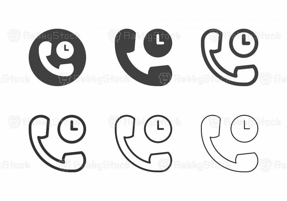Call Time Icons - Multi Series