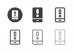 Mobile Alert Icons - Multi Series