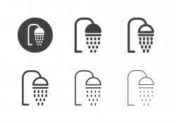 Shower Head Icons - Multi Series