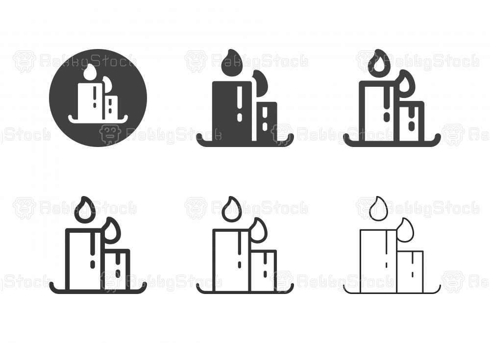 Candle Icons - Multi Series