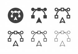 Digital Pen Tool Icons - Multi Series