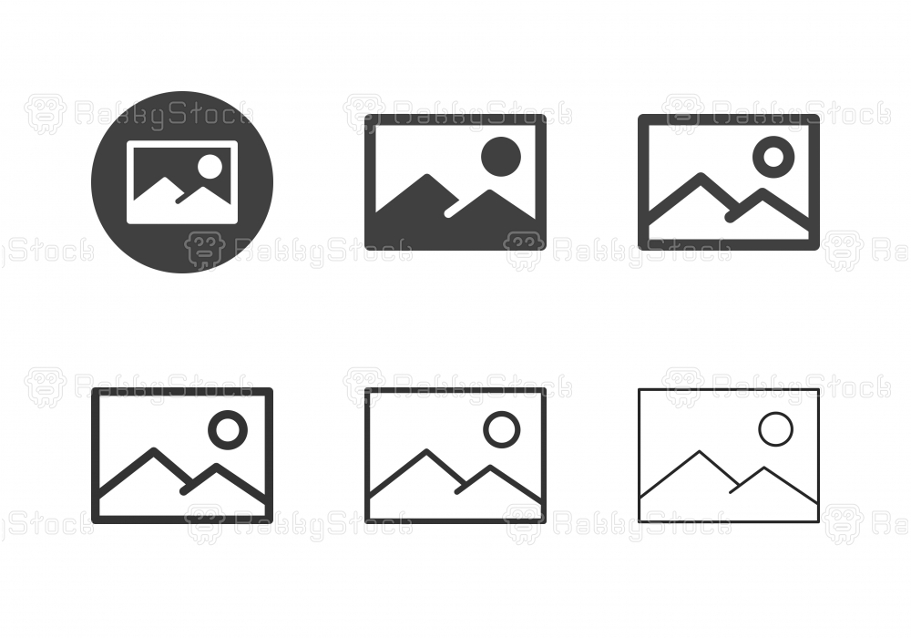 Landscape Image Icons - Multi Series