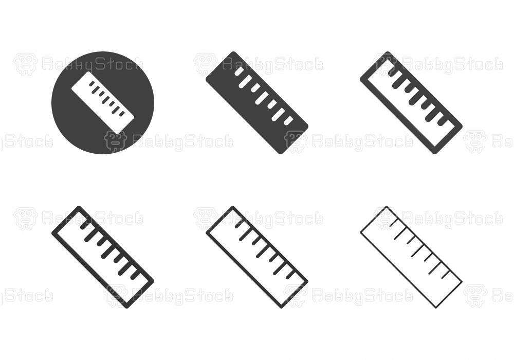 Ruler Icons - Multi Series