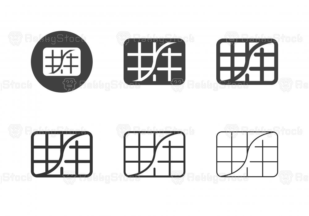 S-Curve Icons - Multi Series