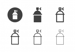 Spray Can Icons - Multi Series