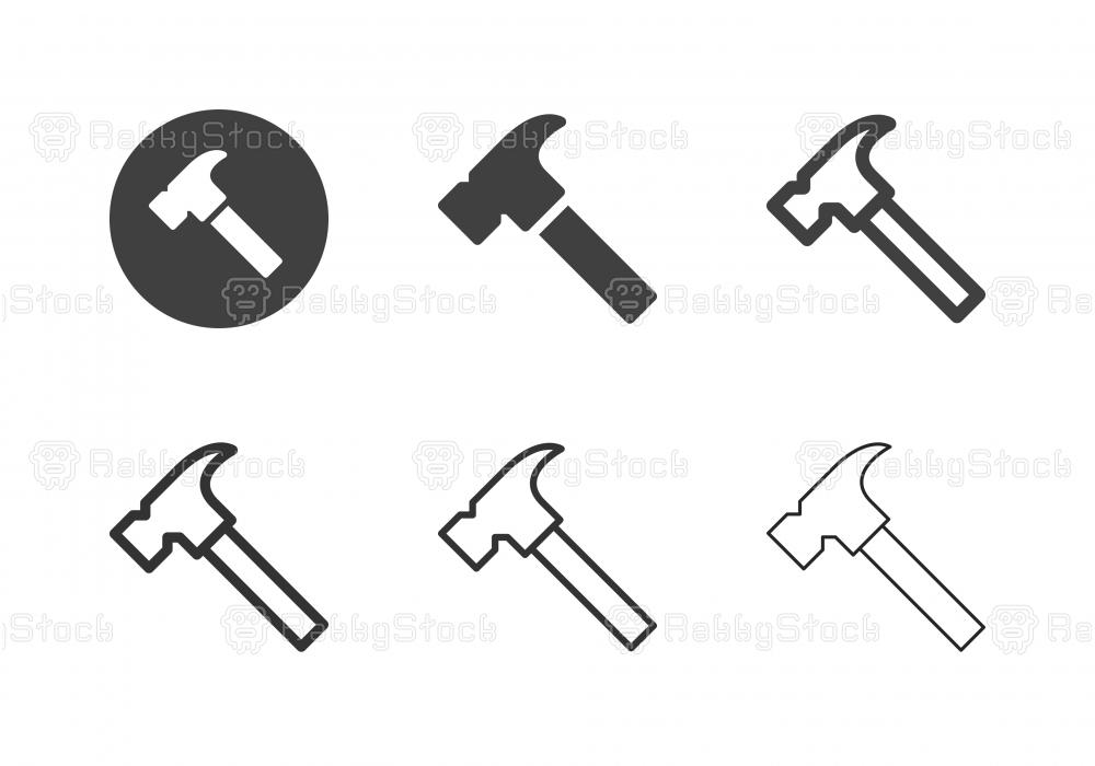 Hammer Icons - Multi Series