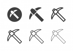Mining Hoe Icons - Multi Series