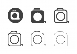 Measuring Tape Icons - Multi Series