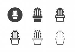 Cactus Icons - Multi Series