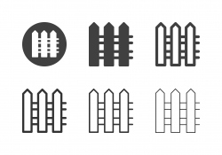 Fence Icons - Multi Series