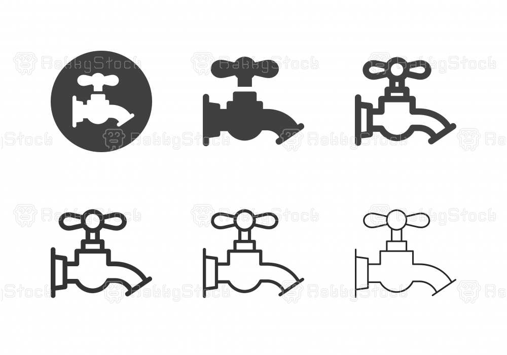 Faucet Icons - Multi Series