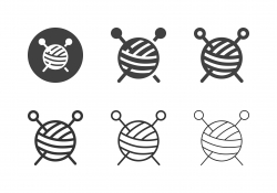 Knitting Icons - Multi Series