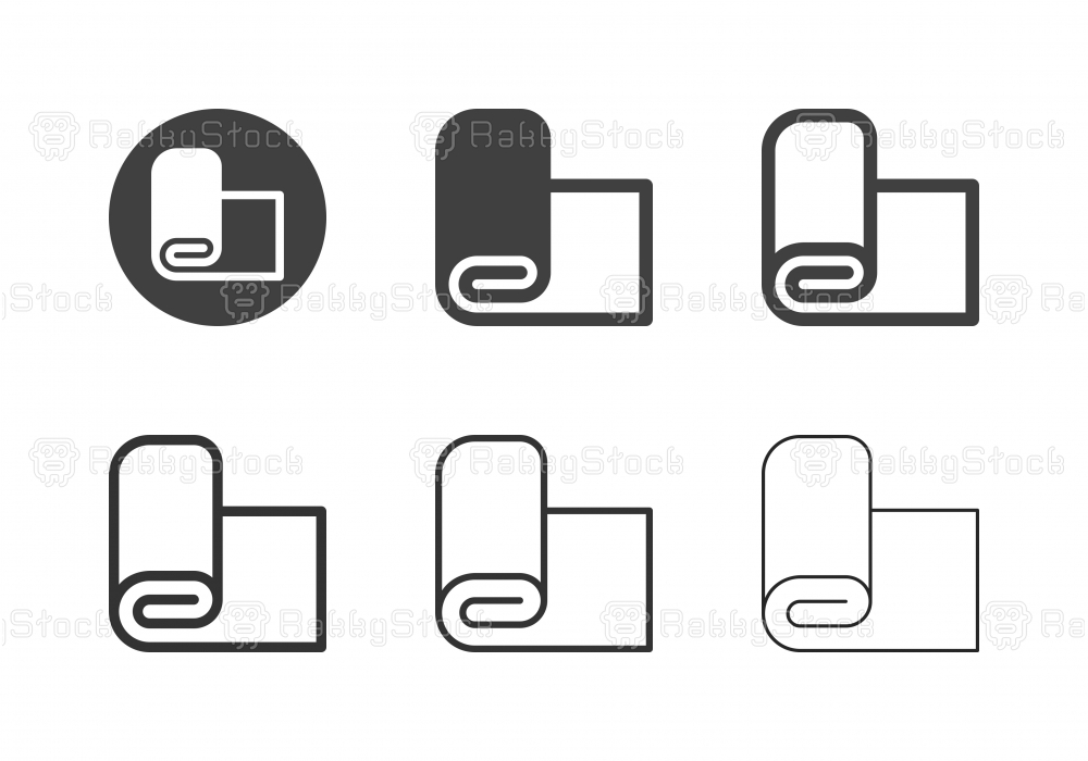 Fabric Roll Icons - Multi Series