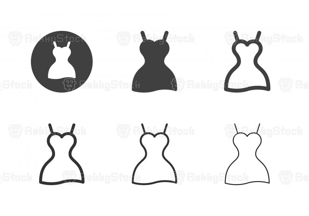 Dress Icons - Multi Series