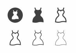 Dress Icons - Multi Series