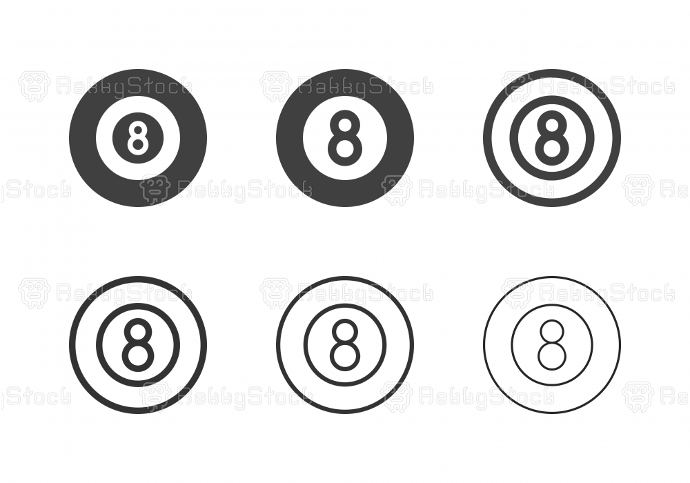 Eight Ball Icons - Multi Series