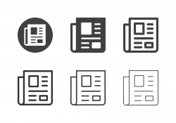 Newspaper Icons - Multi Series