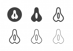 Bicycle Saddle Icons - Multi Series