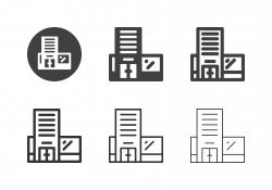Building Icons - Multi Series