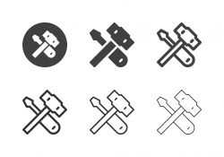 Repairing Tool Icons - Multi Series