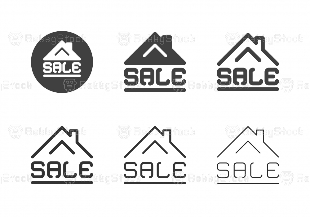 House for Sale Icons - Multi Series